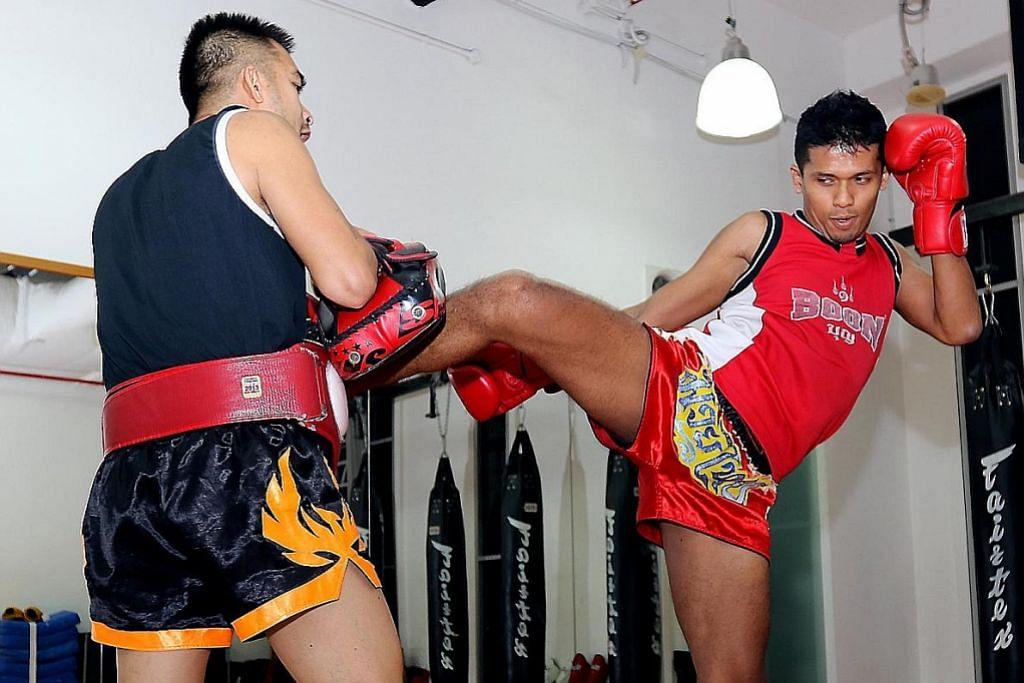 Kecil-kecil cili padi bertarung Muay Thai