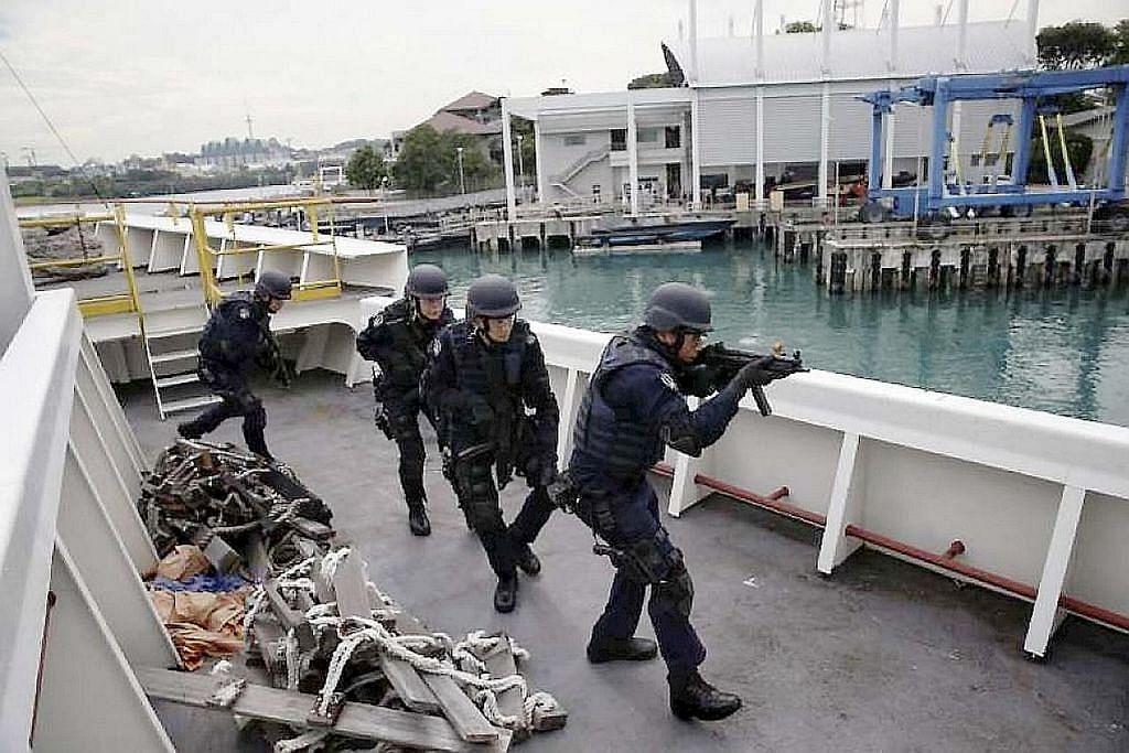 Angkatan respons kecemasan ronda perairan S'pura mulai Jun