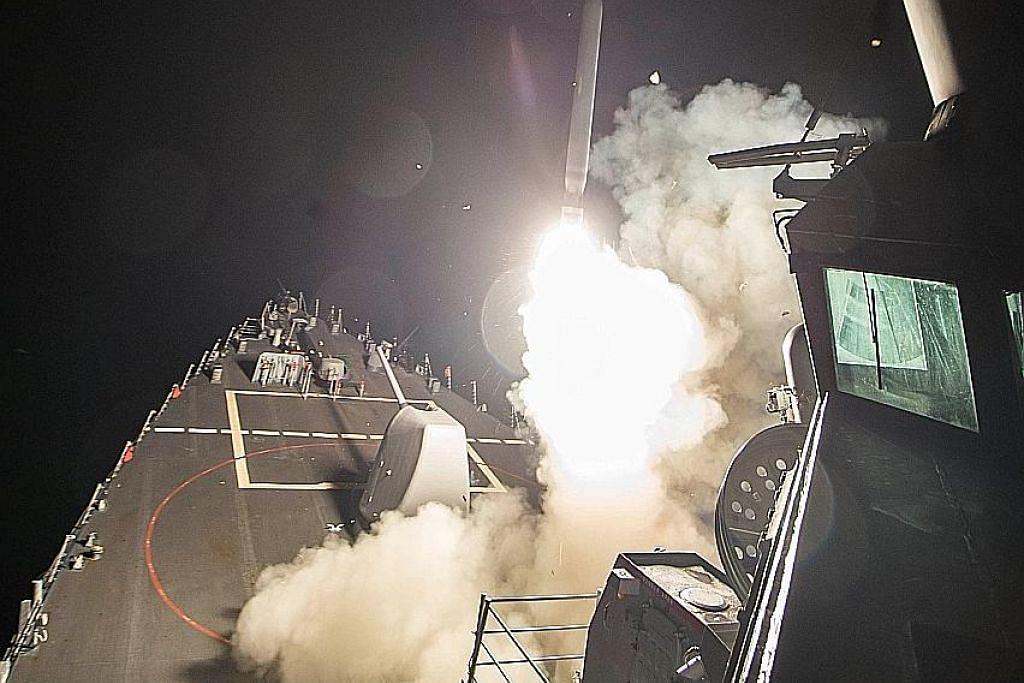 AS serang pangkalan udara Syria