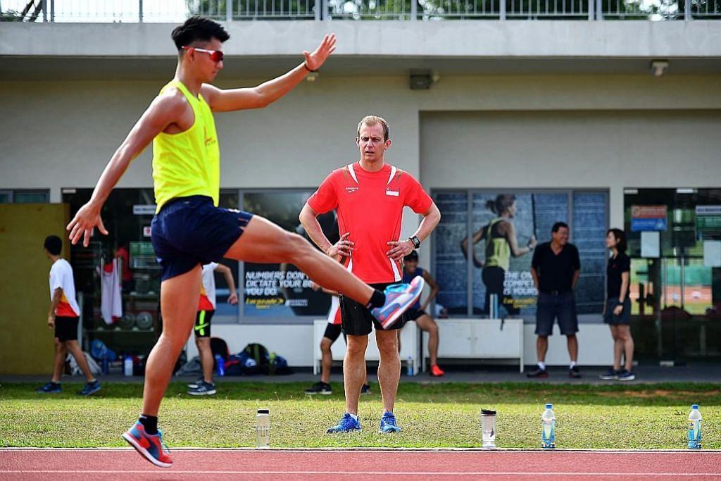 Volker Herrmann pikul tugas mencabar semarak atletik setempat