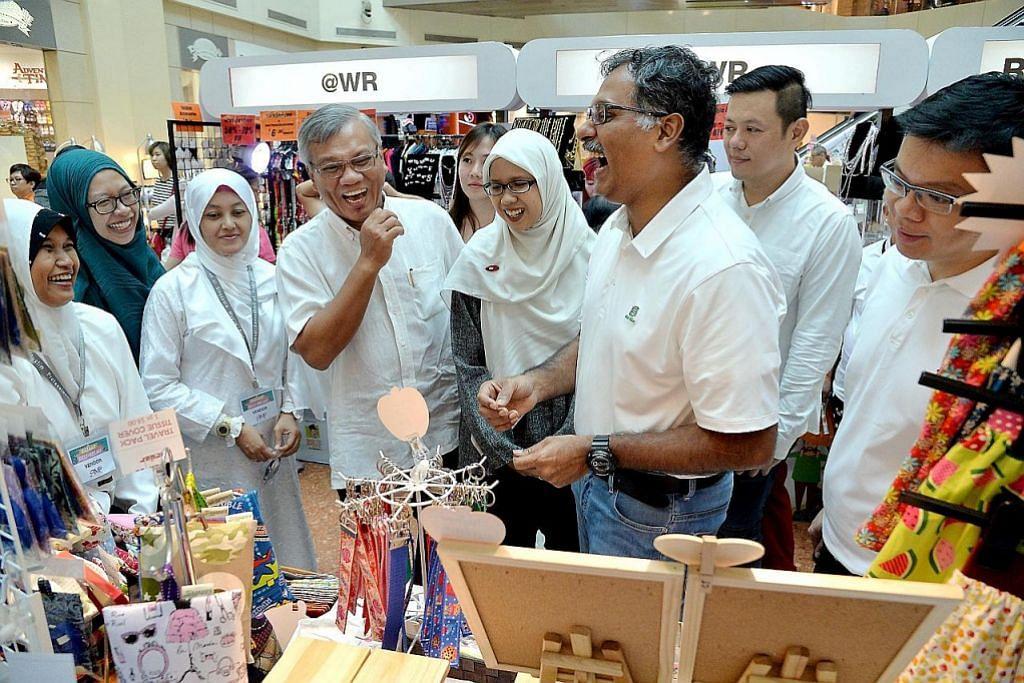 Kumpulan peniaga dapat peluang buka bazar di West Mall