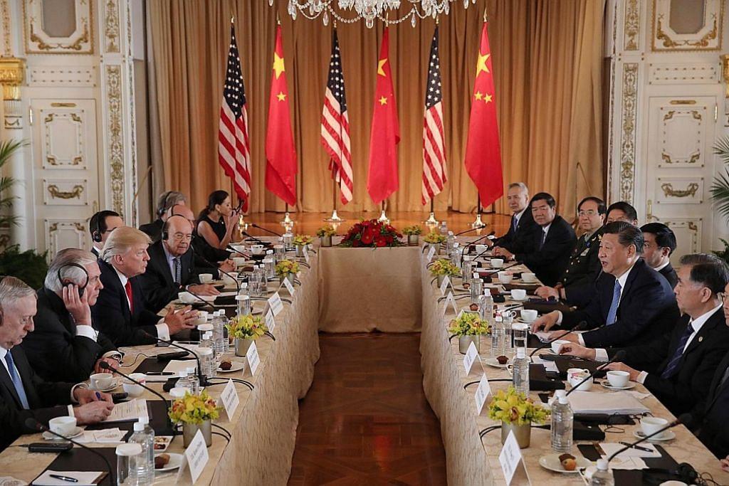 AS santuni China, bincangkan kerjasama LAWATAN PRESIDEN CHINA KE AMERIKA SYARIKAT