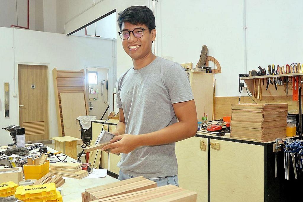 Masa kecil main kayu, dah besar jadi kerjaya