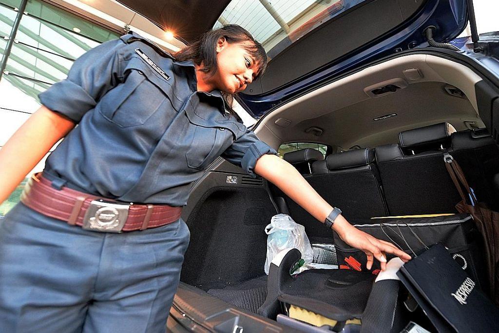Pelajar RP sahut cabaran jadi polis tambahan pantau Tuas