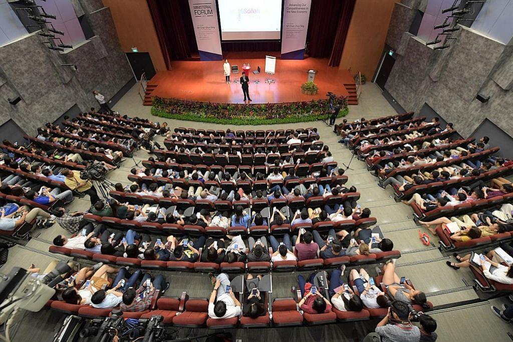 Chun Sing cabar pelajar: Keluar dari zon selesa