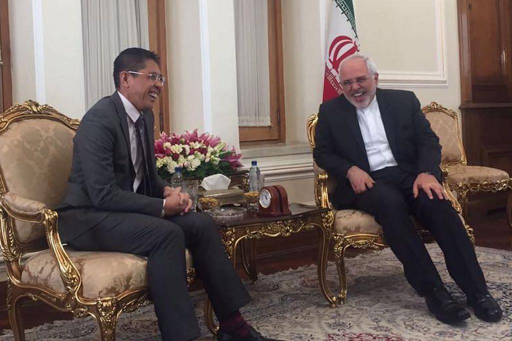 Lawatan Maliki tegaskan lagi hubungan baik Singapura-Iran