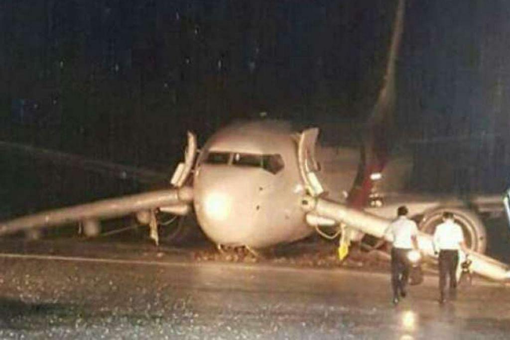 Lapangan Terbang Sibu ditutup lepas pesawat terbabas