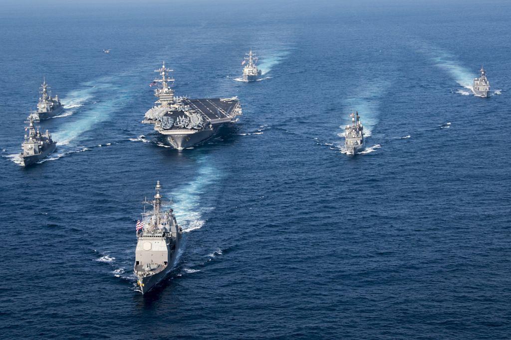 Armada Amerika tunjuk kuat dekat semenanjung Korea