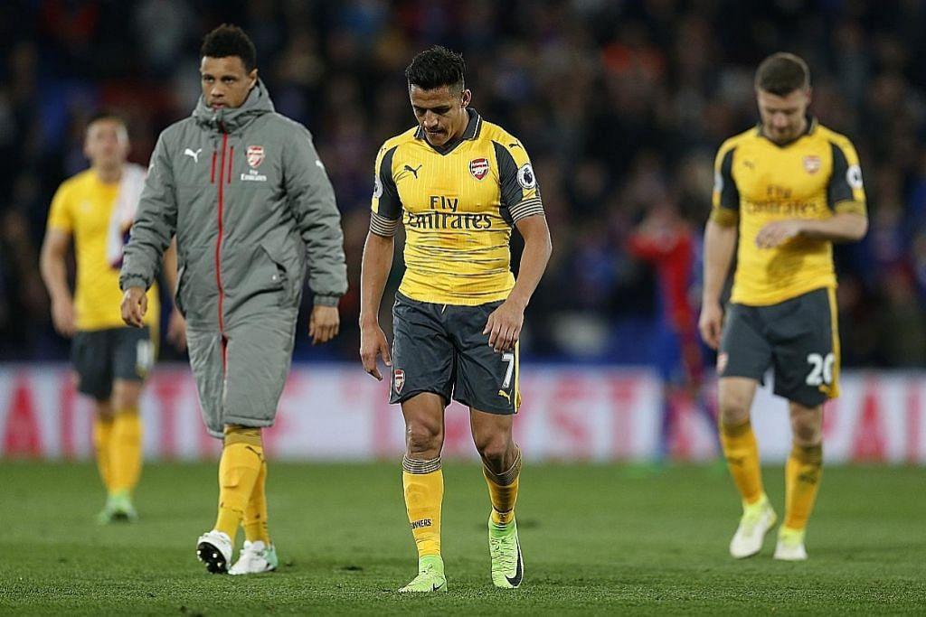Wenger jadi sasaran lagi, musim Arsenal makin bercelaru LIGA PERDANA ENGLAND
