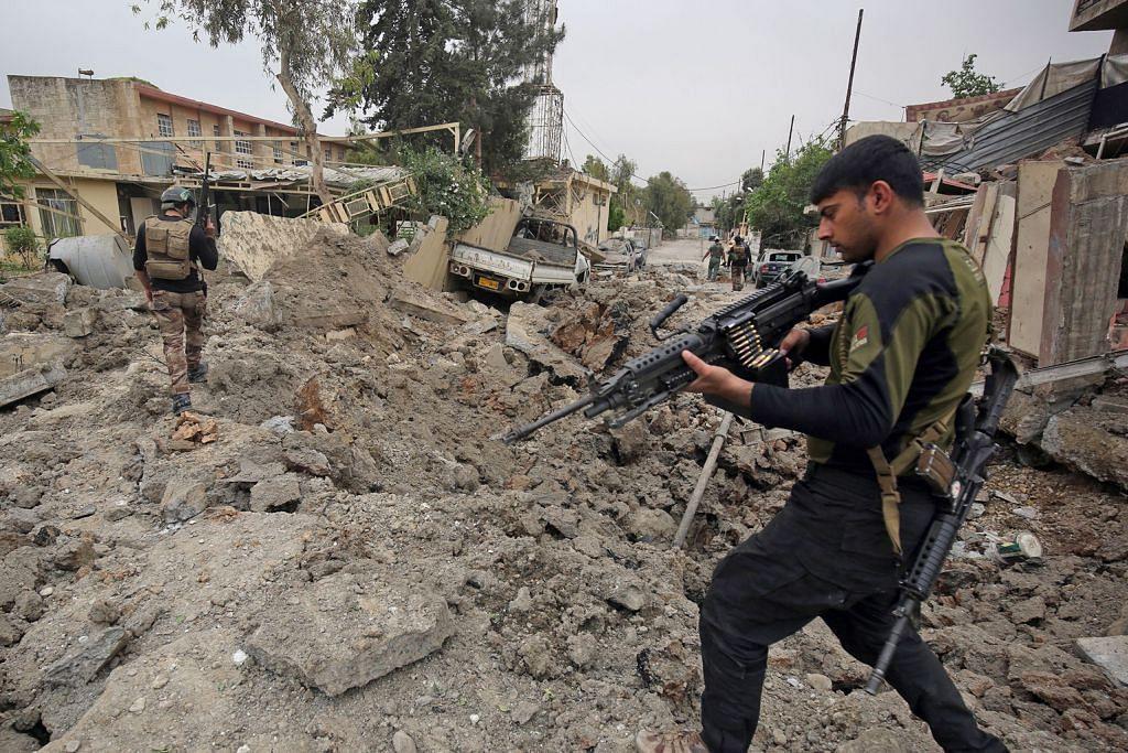 IS 'kini kuasai hanya 7% wilayah Iraq'