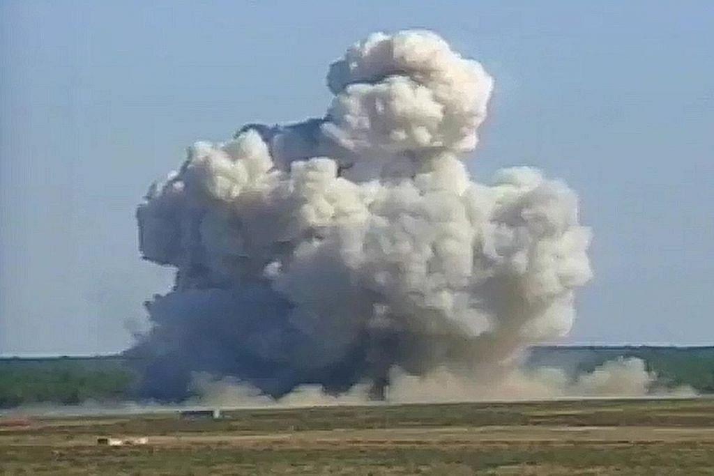 AS guna 'ibu segala bom' ledak gua IS di Afghanistan