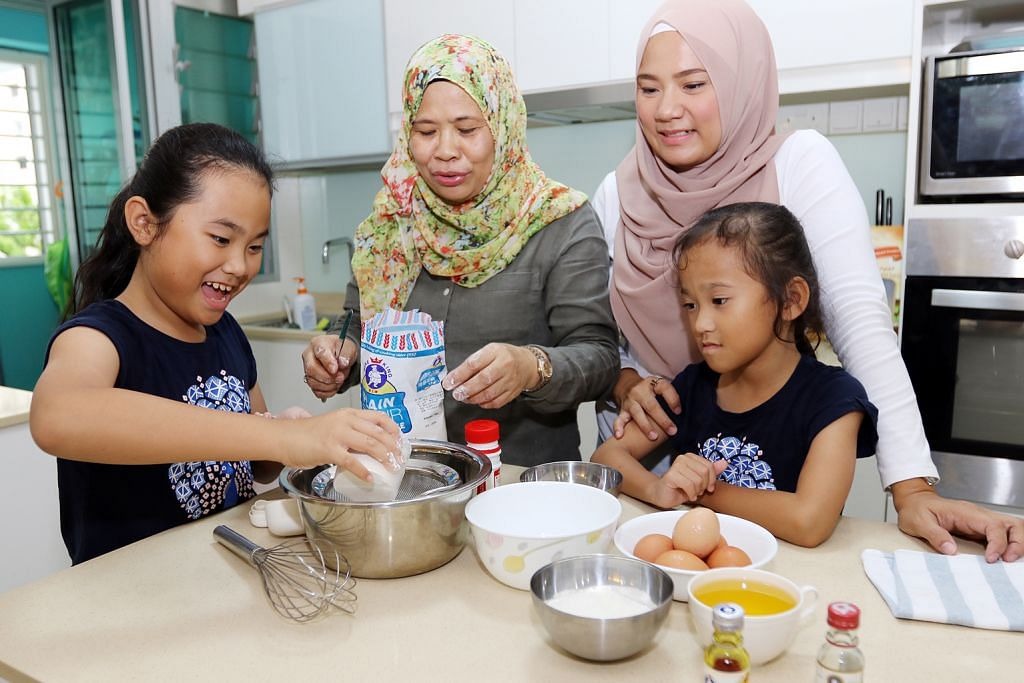 Kegiatan memasak jadi cara rapatkan hubungan dengan anak