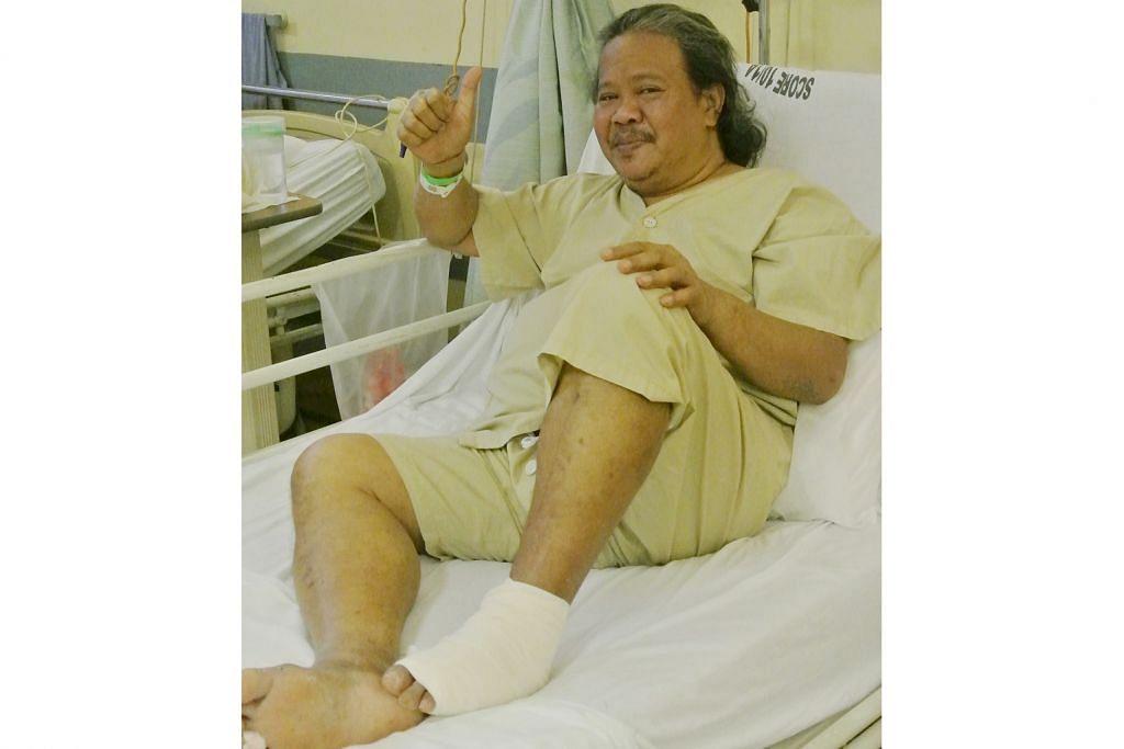Walau jari kaki dipotong, Alias Kadir mahu terus berseni