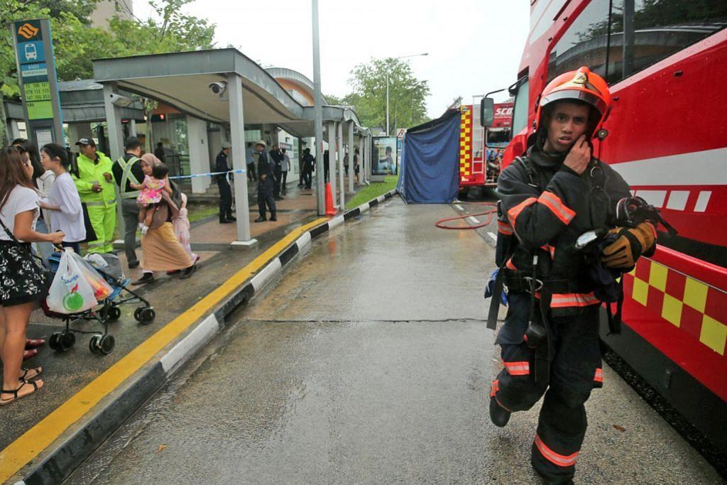 PENUTUPAN SEMENTARA STESEN MRT WOODLEIGH Lelaki diberkas letak bahan mencurigakan