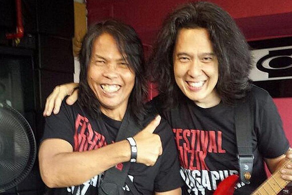Festival muzik band lama, muda Melayu Singapura FESTIVAL MUZIK SINGAPURA