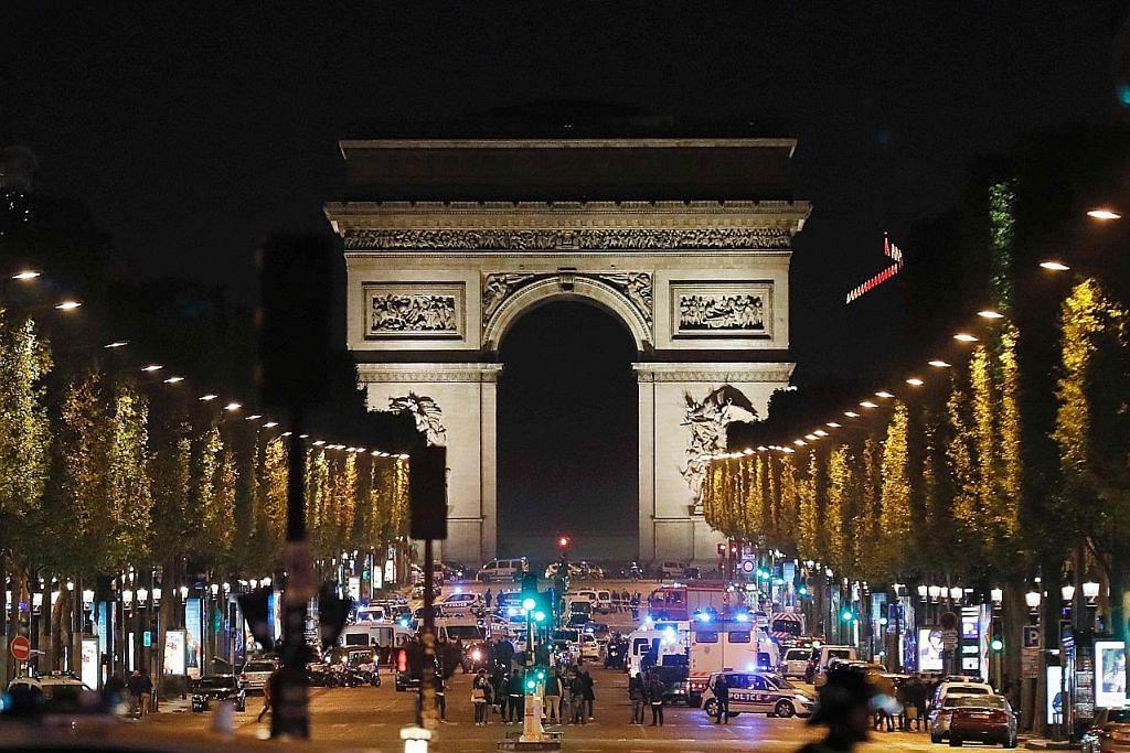 Pegawai polis ditembak mati dalam serangan IS di Paris
