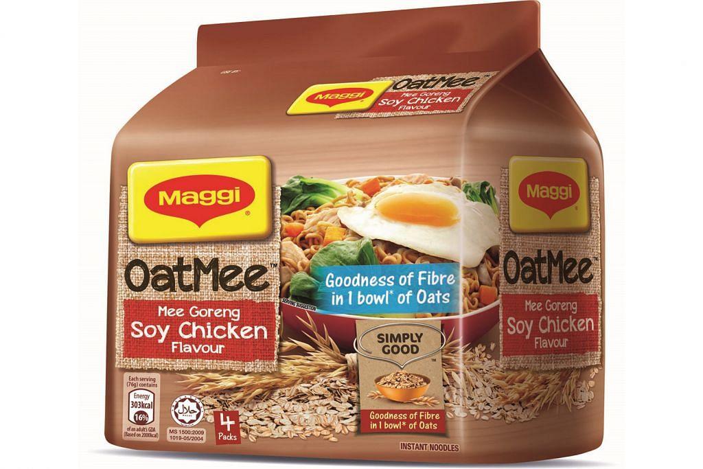 Mi bijirin oat tambah serat