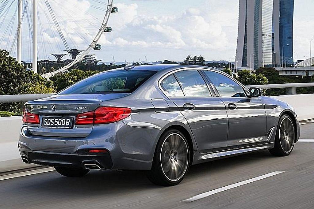 BMW 540i canggih seakan kereta James Bond