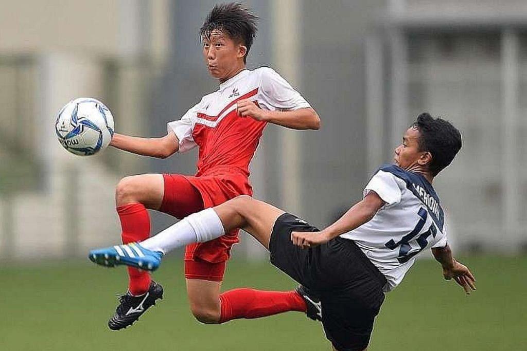 Sekolah Sukan Singapura muncul juara PERLAWANAN BOLA SEPAK LIGA PERDANA DIVISYEN 1 B