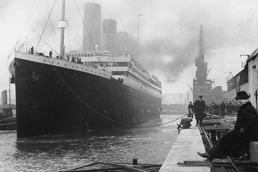 Misi lawat dasar laut tenggelamnya Titanic