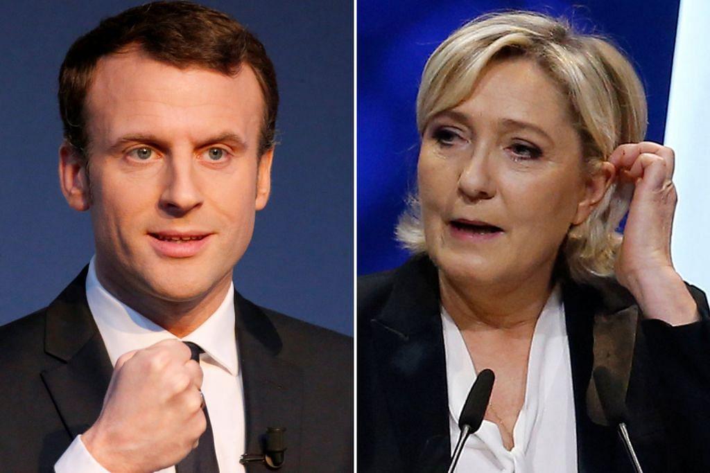 PILIHAN RAYA PRESIDEN PERANCIS 47 juta warga Perancis buang undi