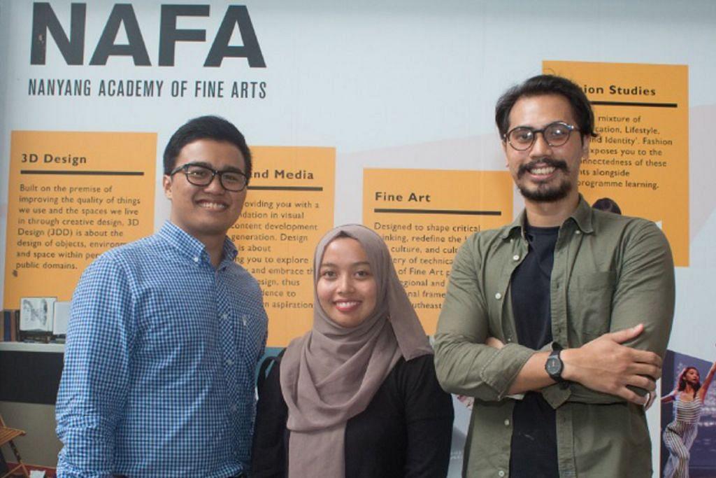 Tiga pelajar bersyukur pengajian lengkapi diri dengan kemahiran kerja