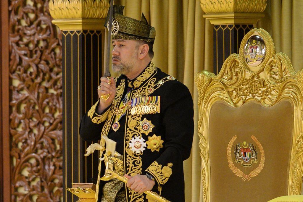 Sultan Muhammad V ditabal Yang di-Pertuan Agong baru M'sia