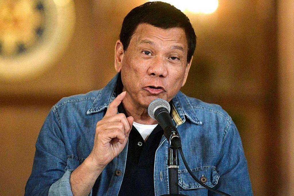 Peguam fail kes ke atas Duterte di ICC