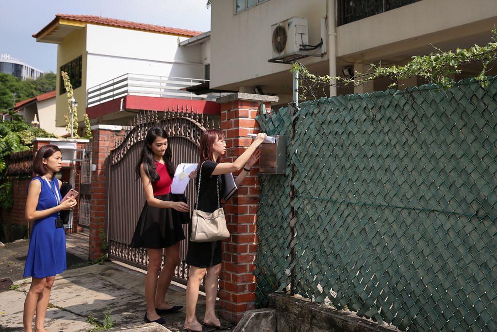 SLA arah pemilik tiga hartanah di Merpati Road segera pindah