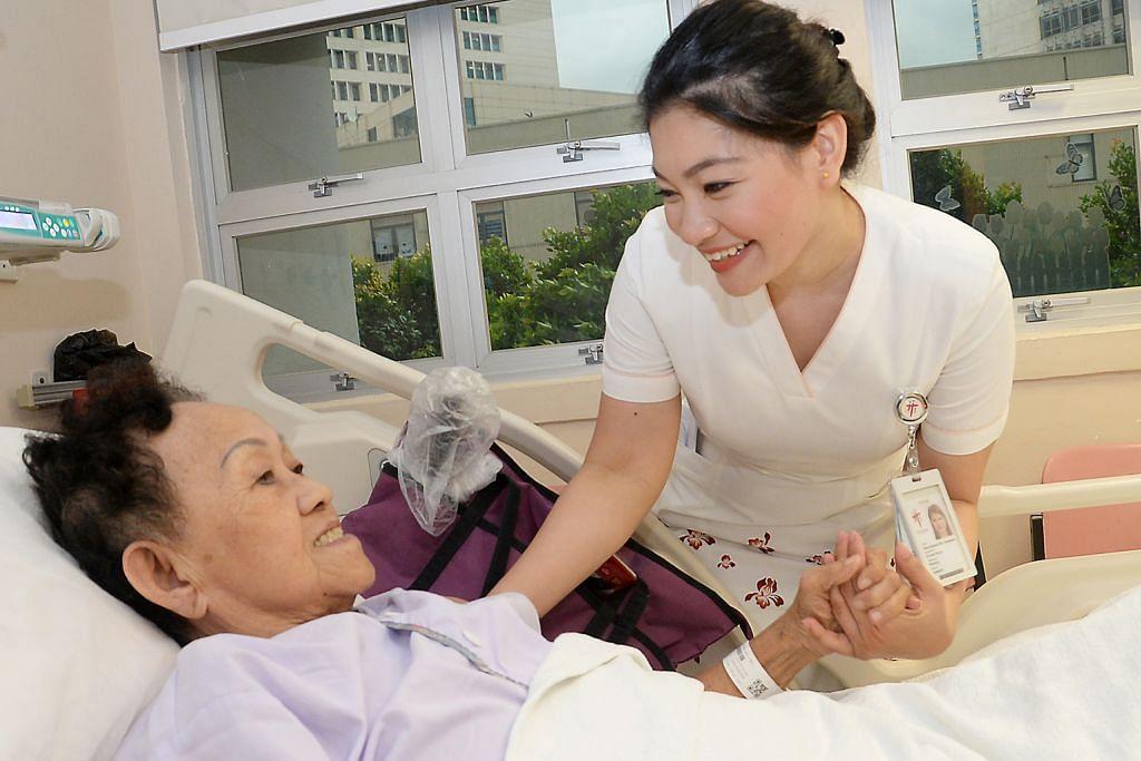 Jururawat dengan sentuhan istimewa: nyanyi hiburkan pesakit