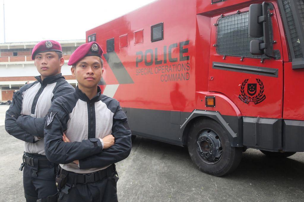 Unit ketenteraman awam baru dianggotai polis NS