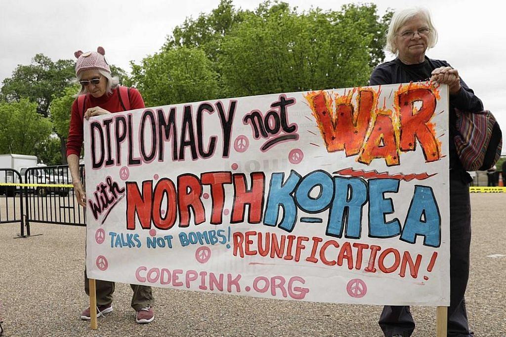Trump tidak tolak konflik lebih besar dengan Korea U