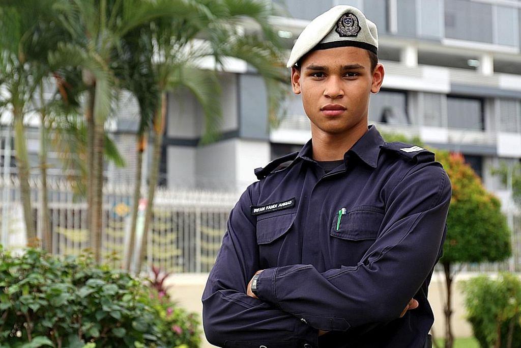 Irfan Fandi bangga sarung 'jersi' polis