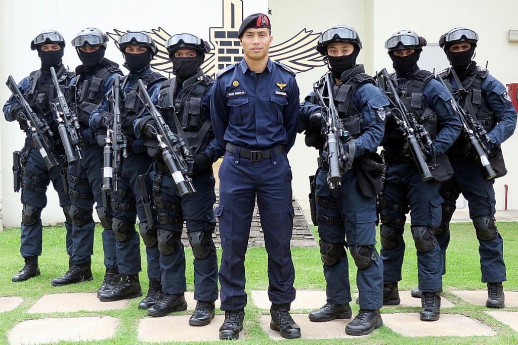 Latihan taktikal persiap pasukan elit penjara