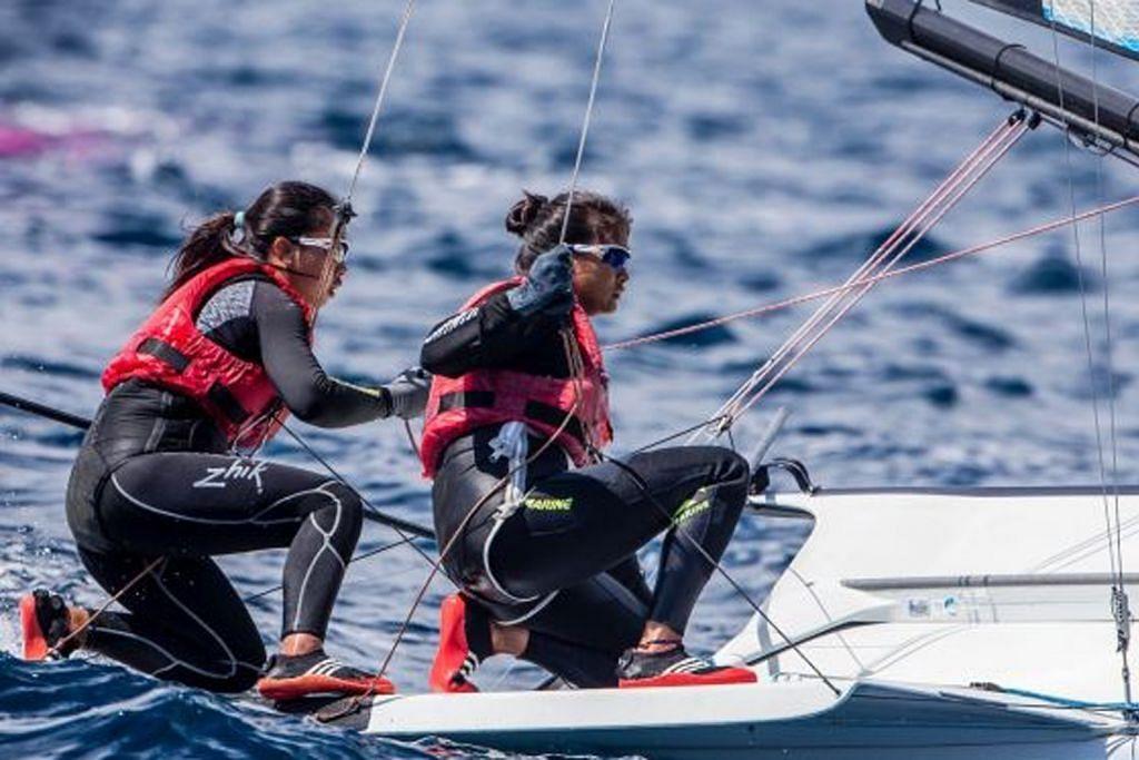 Pasangan pelayar S'pura ke peringkat akhir PIALA DUNIA PELAYARAN