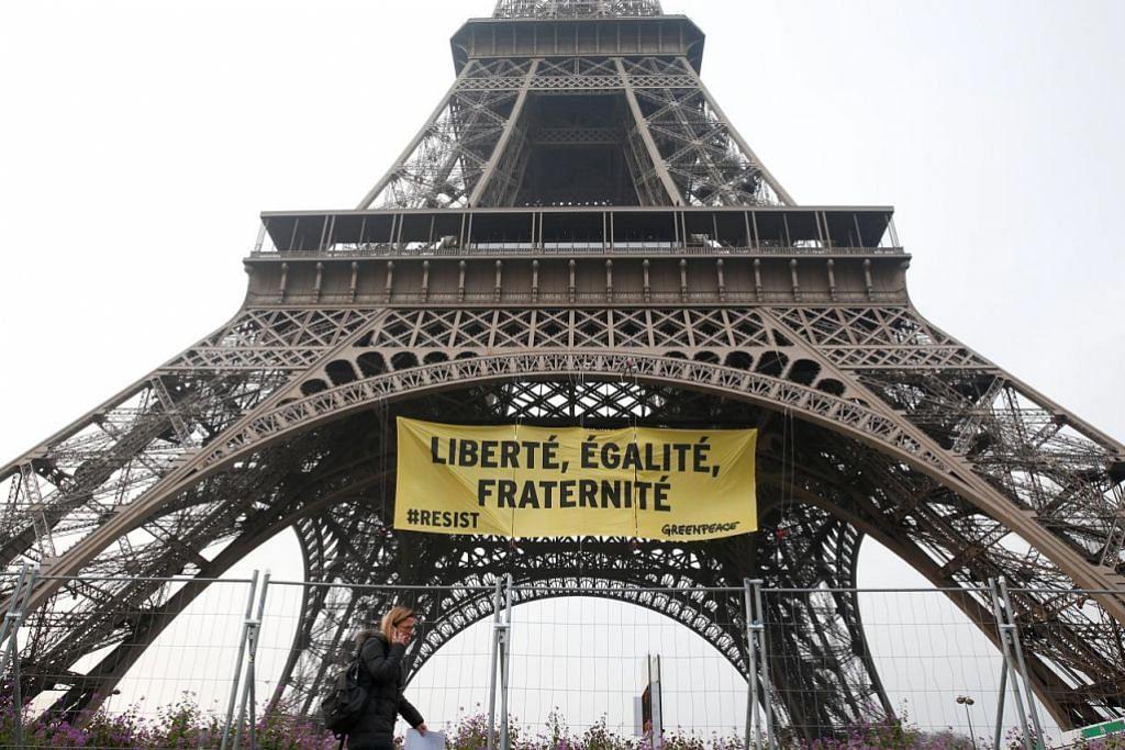 Keselamatan di Paris dipertingkat jelang Pilihan Raya Presiden
