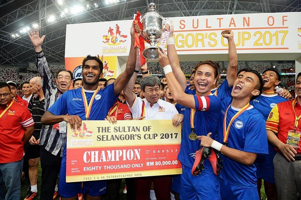 WARNA-WARNI SEKITAR PIALA SULTAN SELANGOR Semarak nostalgia saingan S'pura-Selangor
