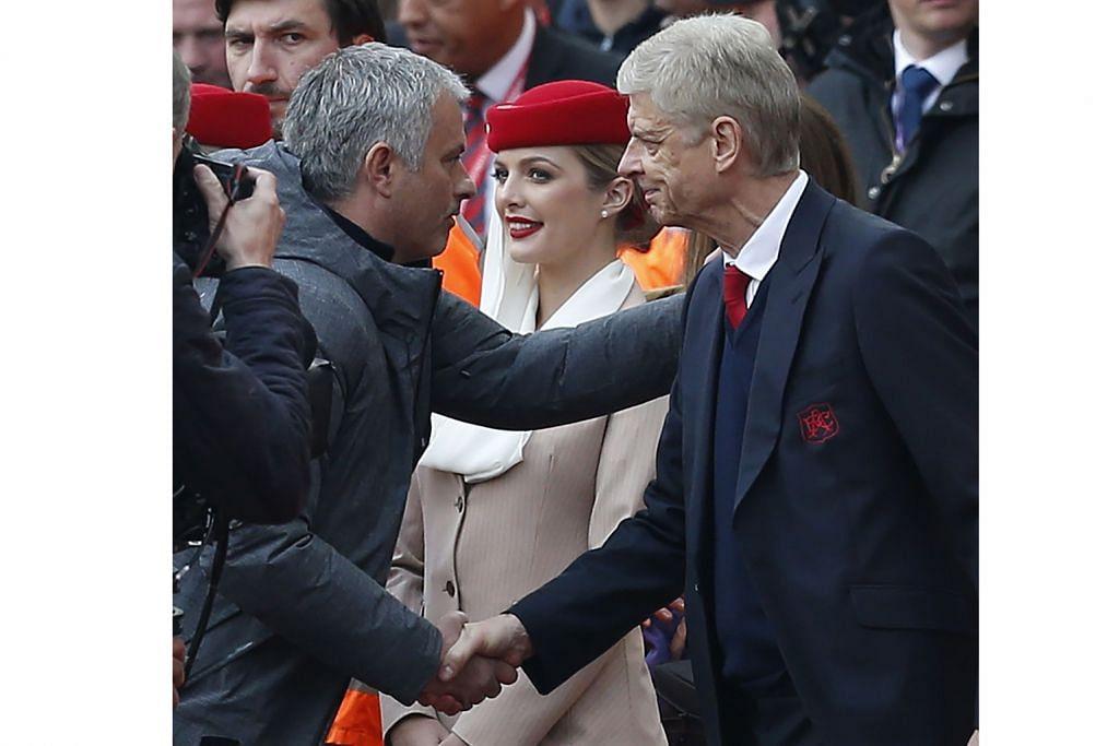 Arsenal menang tapi permusuhan dua pengurus belum tampak reda LIGA PERDANA ENGLAND
