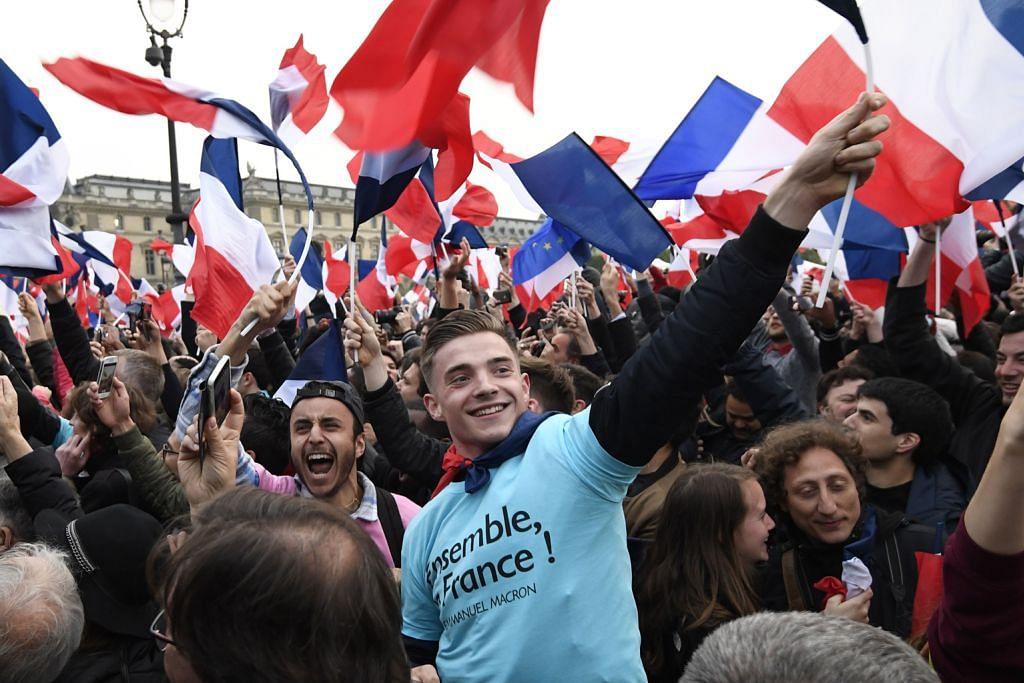 Kemenangan Macron disambut baik pemimpin dunia