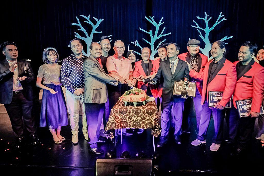 Nostalgia pop yeh yeh bersama Rhythm Boys di Tampines