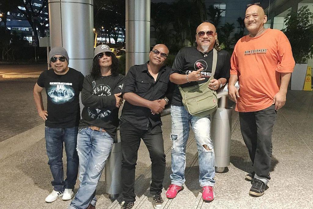 Irama rok 'otai' Yazid Lovehunters dan teman