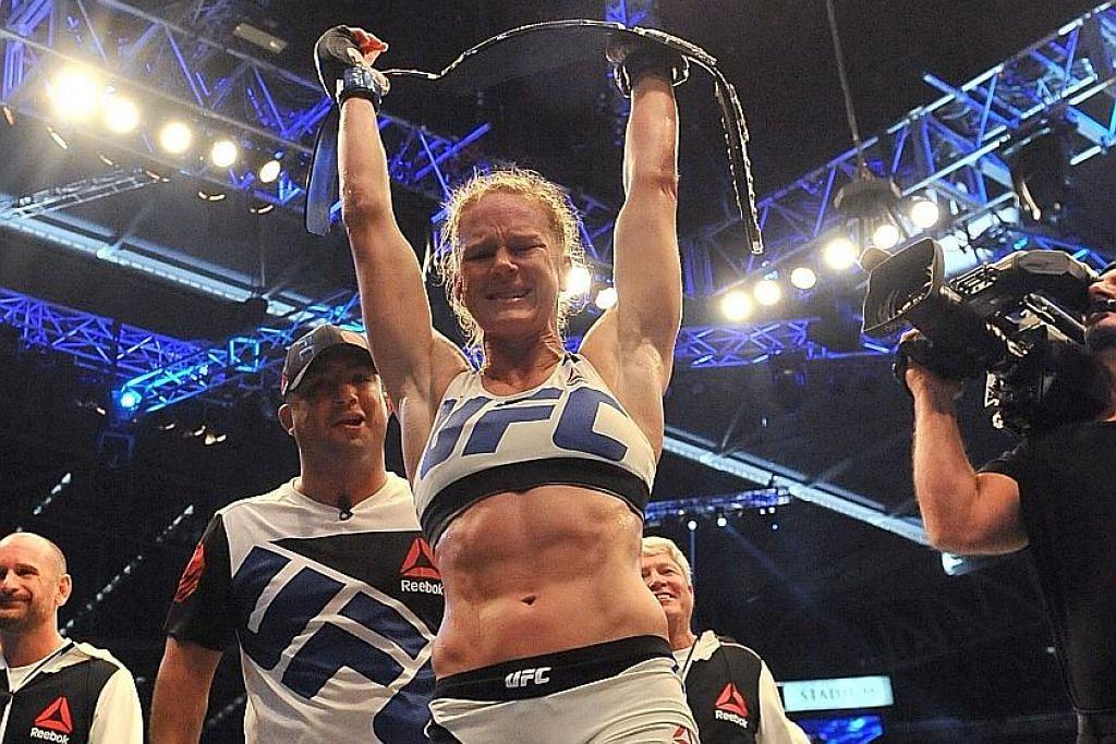 SENI MEMPERTAHAN DIRI CAMPURAN (MMA) Bethe Correia tidak gentar lawan Holly Holm
