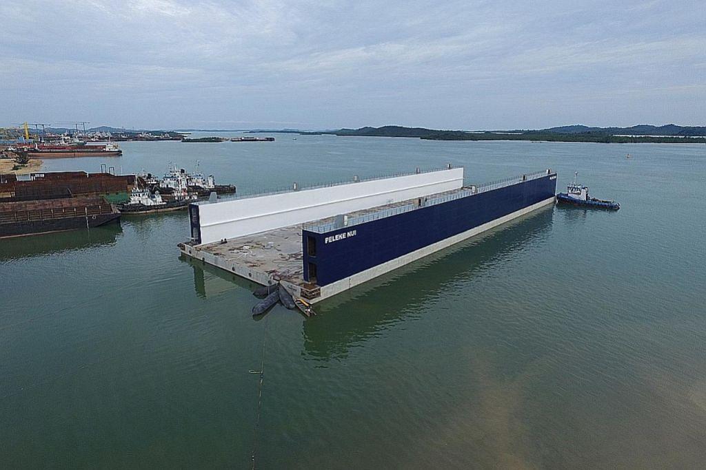 Firma S'pura siap bina limbungan kering terapung terbesar di Asia Tenggara
