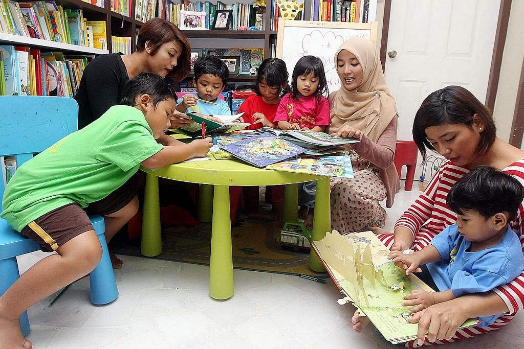 Sedia asas sejak awal bagi bentuk kemahiran membaca