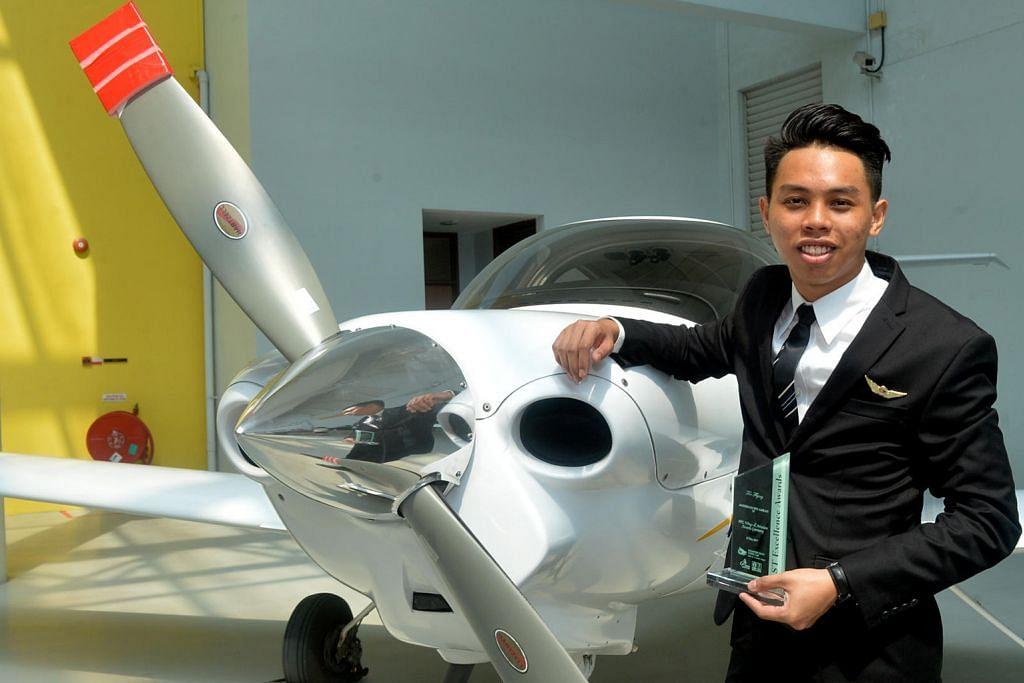 Pilot muda cemerlang...
