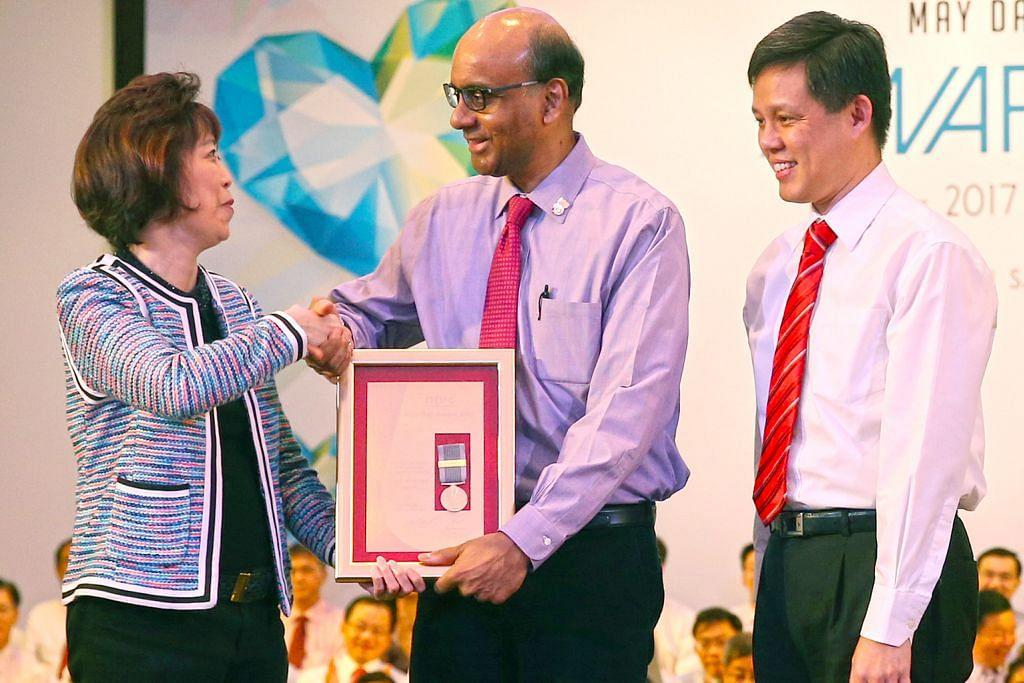 Anugerah tertinggi Hari Buruh bagi Tharman
