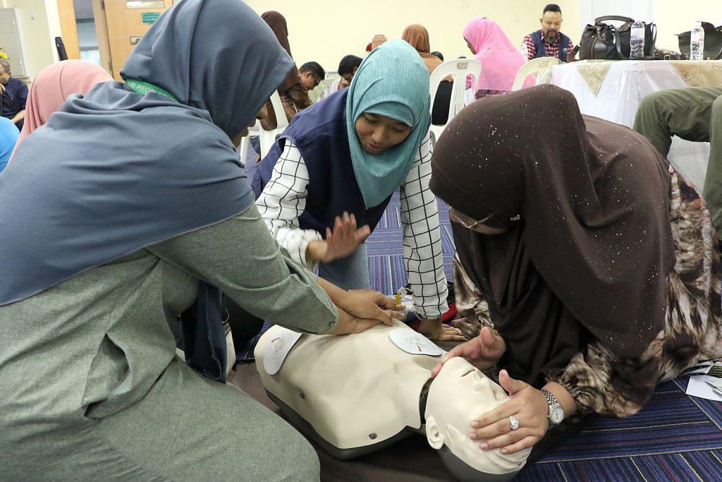 Masjid kelompok tengah bakal dilengkapi alat bantuan pernafasan