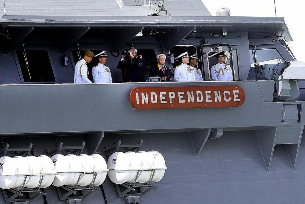 Pentingnya kerjasama tentera laut pelbagai negara
