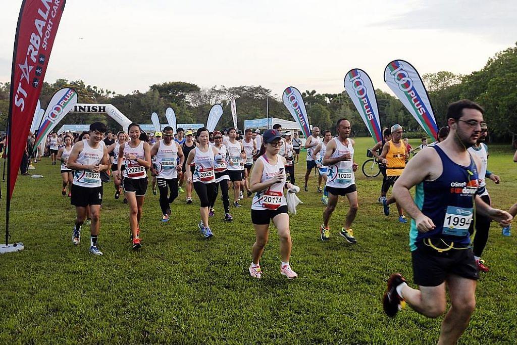 Acara bagi galak etika baik semasa berlari