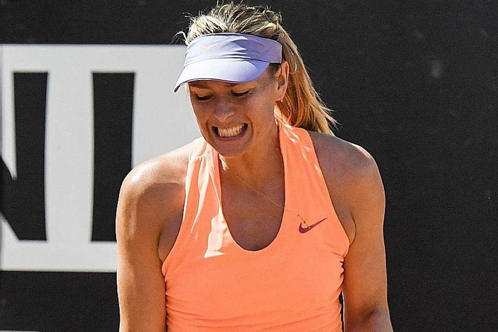 TENIS Sharapova jamin tempat di pertandingan kelayakan Wimbledon